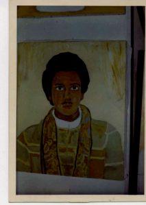 Portrait of Abdul-Jalil in Paris, France