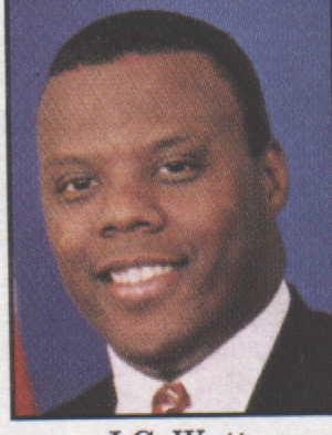 Former Congressman J. C. Watts Jr.