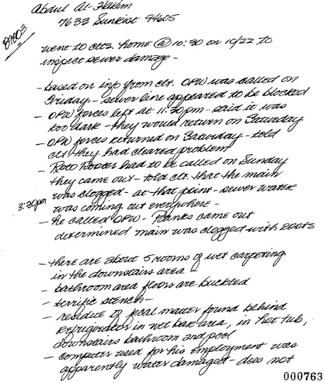 Pat Smith's Notes, Page 1