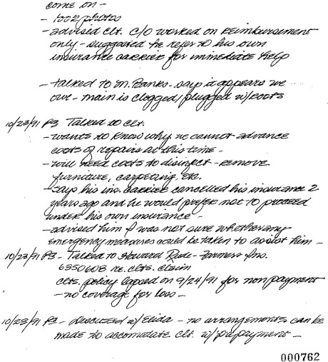 Pat Smith's Notes, Page 2