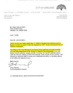Russo-Harrold Letter to Abdul-Jalil