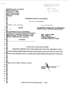 al-Hakim April 2008 Complaint against Tigar