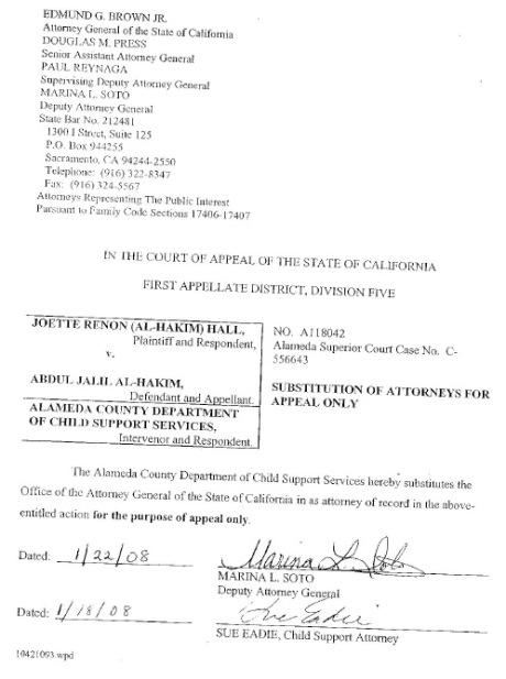 Attorney General Substitute for DA Tom Orloff