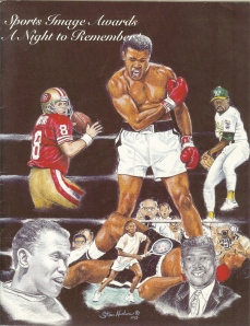 1995 Sports Image Awards Program Cover